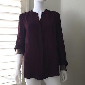 Metaphor long sleeve blouse